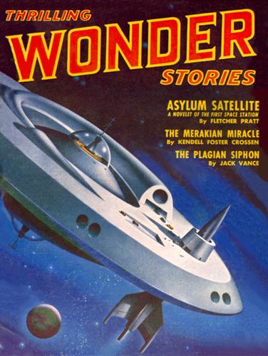Thrilling Wonder ~ October 1951
