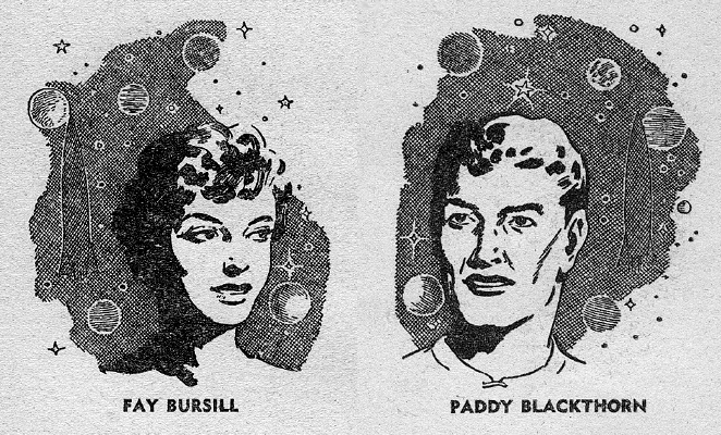 Portraits of Fay and Paddy
